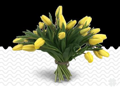 Vrolijke-gele-tulpen-bestellen