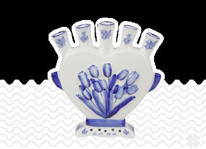 Delfts-blauw-hart-vaas